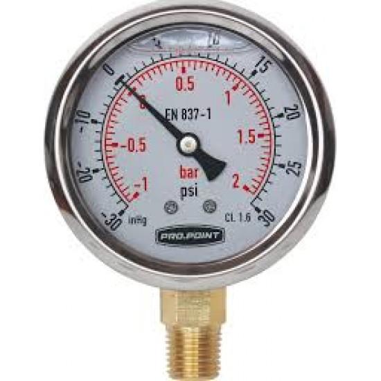 Pressure gauge pour piscine 30lb